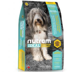 Nutram Ideal Solution Support I20 Sensitive Skin, Coat & Stomach Dog - Sac 13,6 kg