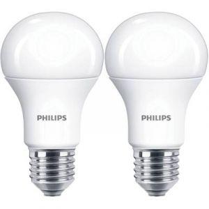 Philips Ampoule LED 100W A60 E27 WW 230V FR ND 2BC/6