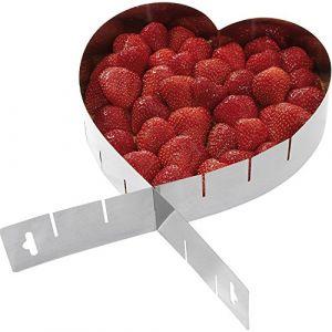 Westmark 31342270 Moule à gâteau en forme de coeur