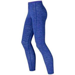 Odlo Vêtements intérieurs Pantalons Revolution Tw Warm - Clematis Blue Melange - Taille M