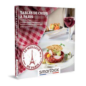 Smartbox Coffret cadeau Tables de chefs à Paris