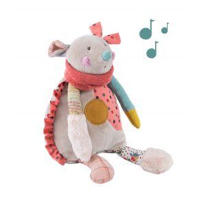 Moulin roty Peluche bébé musicale souris les jolis trop beaux