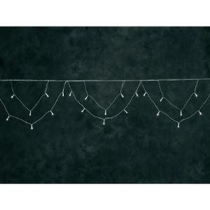 Konstsmide Guirlande lumineuse à Led pour gouttière forme arcade