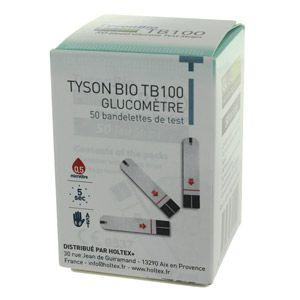 Eks Starter Kit - Flacon de 50 bandelettes pour glucomètre