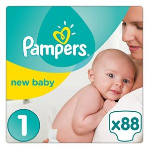 Pampers Premium Protection New Baby taille 1 (2-5 kg) - 44 couches