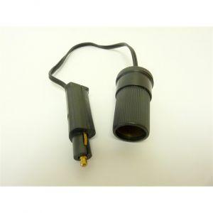 Adaptateur prise allume-cigare DIN 24 V 15 A HTC
