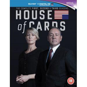 House of Cards - L'Intégrale des saisons 1 à 3