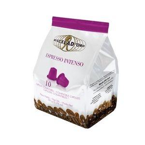 Capsules Espresso Intenso x10 Miscela d'Oro pour Nespresso
