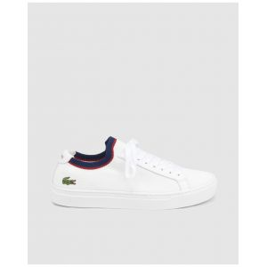 Lacoste Chaussures type chaussettes Blanc - Taille 46