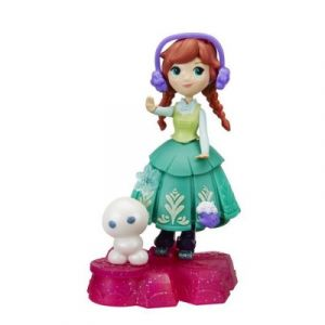 Hasbro Figurine La Reine des Neiges Disney Little Kingdom : Roule à toute vitesse Anna