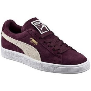 Puma Suede Classic, Sneakers Basses Femme, Violet (Winetasting-White), 40 EU