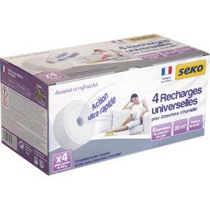 Seko Recharge galet percé pour absorbeur Medium - Lavande - Vendu par 4