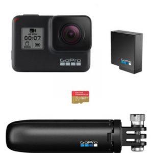 GoPro Hero 7 Black Pack Holiday - Caméra sport
