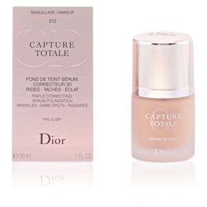 Dior Capture Totale 010 Ivoire - Fond de teint sérum correcteur 3D rides - taches - éclat