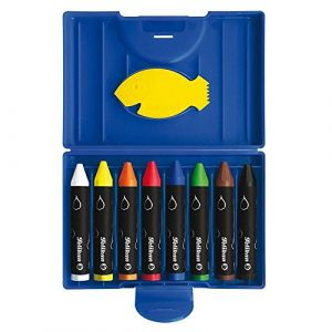 Pelikan 722959 - Crayons de cire épais 666/8WL, rond,