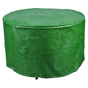 Bosmere Products Ltd P345 Protection d'écran Plus Siège réversible pour Table Circulaire 4–6 – Vert/Noir