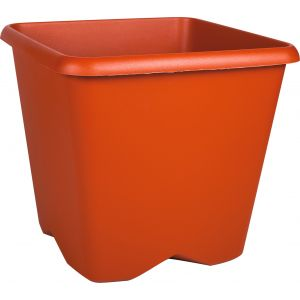 Eda Plastiques Pot plastique carré Chorus Eda - 35,6 l - Potiron