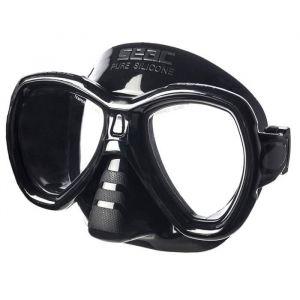 Seacsub SEAC Masque de Plongée Elba - Adulte - Noir