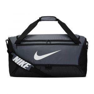 Nike Sac de sport de training Brasilia (taille moyenne) - Gris - Taille ONE SIZE - Unisex