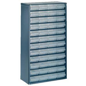 Raaco Casier de rangement 1248-01 à 48 tiroirs 137393