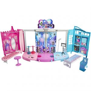 Mattel Château Barbie Spectacle Rock'N Royals