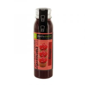 Patisdécor Colorant alimentaire liposoluble - rouge - 40 g