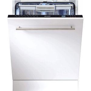 Sharp QWGD53 I 443 XFR - Lave-vaisselle intégrable 15 couverts