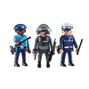 Playmobil 6501 - 2 policiers et 1 policière