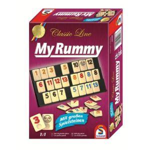 Schmidt My Rummy Classic Line avec grands jetons