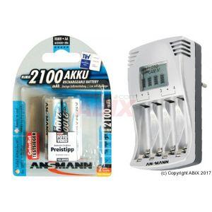 Ansmann 5307263 - Chargeur à écran lcd
