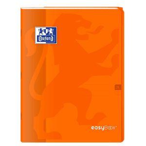 Oxford Cahier Easybook agrafé - 24 x 32 cm - 96p seyès - 90g - Orange