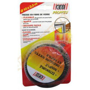 Geb Kit tresse en fibre verre extensible 8 mm