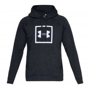 Under Armour Sweat Rival Fleece Logo Noir / Blanc - Taille 50