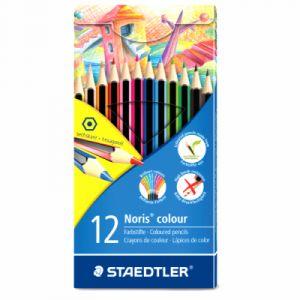 Staedtler Coffrets de crayons de couleur Noris 185 - 6 crayons