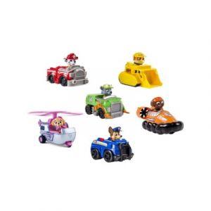 Spin Master Pack de 6 mini-véhicules de secours Pat'Patrouille