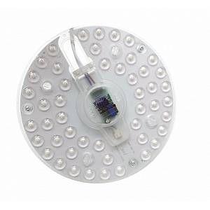 Silamp Tube LED T9 24W 220V 120 Plaque Circulaire Plafond Ø180 - couleur eclairage : Blanc Neutre 4000K - 5500K