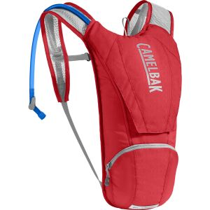 Camelbak Classic Sacs D'Hydratation Mixte Adulte, Racing Red/Silver, 2.5