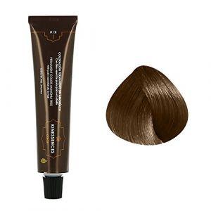 Kin Cosmetics Coloration permanente sans ammoniaque aux 5 huiles 7.3 : Blond Moyen Doré Sans ammoniaque, Crème 60ml