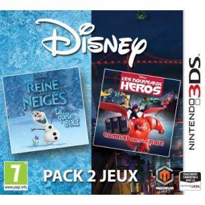 Disney pack 2 jeux : La Reine des Neiges + Les Nouveaux Héros [3DS]