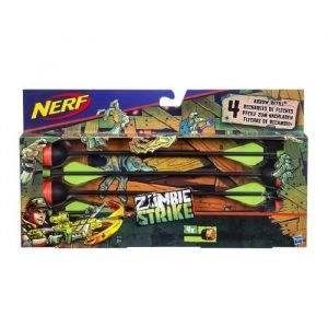 Hasbro Nerf Zombie Strike Recharges 4 flèches