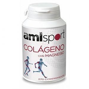 Amlsport Système circulatoire pour collagène magnésium (270 comprimés)