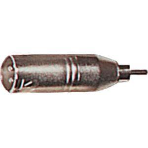 Yellow Cable AD19  - Adaptateurs RCA mâle / XLR mâle X2