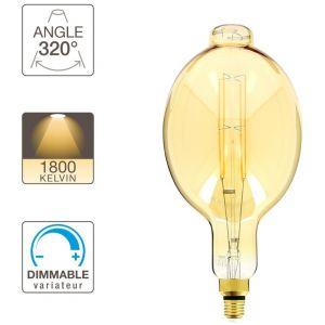 Xanlite Ampoule LED BT180 - cuLot E27 - vintage géante filament