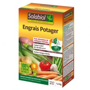 Solabiol Engrais potager 1.5kg /nc - Categorie fantome