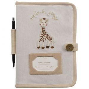 Vulli Protège carnet de santé So' Pure Sophie la girafe