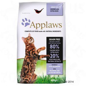 Applaws Croquettes pour chats Adult - Poulet et Canard pour chats
