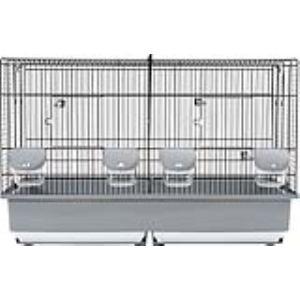 Zolux Cage d'élevage pour oiseaux (70 x 44 x 40 cm)