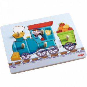 Haba Puzzle  Petit train 6 pièces