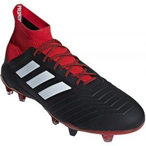 Adidas PREDATOR 18.1 FG - NOIR - homme - CHAUSSURES BASSES
