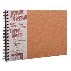 Clairefontaine Album de voyage Age bag 80 pages ligné uni